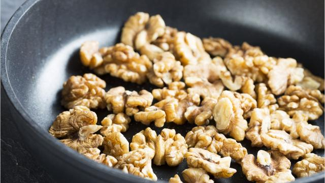 Here are 3 ways to toast nuts.