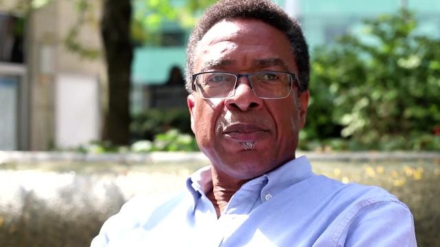 Detroit resident shares thoughts on surveillance camera at Campus Martius Park
