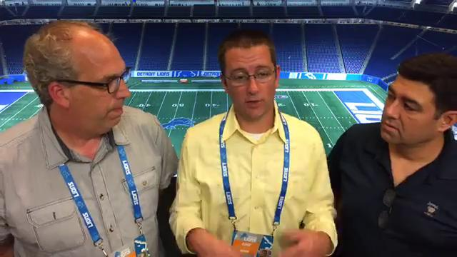 Free Press sports writers Shawn Windsor, Dave Birkett and Carlos Monarrez debate whether the Lions got jobbed on the game's final play against the Falcons, and analyze how good the Lions really are Sunday, Sept. 24, 2017.