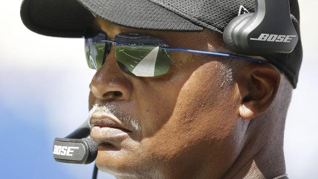 Lions' Jim Caldwell revisits final play vs. Falcons: 'It is what it is'