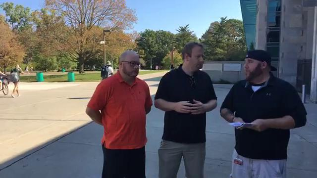 Free Press writer Chris Solari joins Graham Couch and Cody Tucker of the Lansing State Journal to talk Michigan State football on Sept. 26, 2017, as the team gets ready to play Iowa.