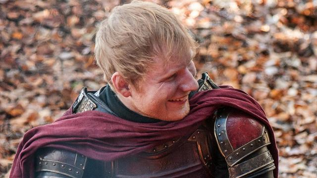 """Who cares about whether Bran is the Night King? All Game of Thrones fans want to know is whether Ed Sheeran's Lannister soldier is dead. Back in the first episode of Season 7, """"Dragonstone,"""" Ed had a cameo as a Lannister soldier who meets Arya Stark. It's fair to say it didn't go down well with viewers based on the Twitter feedback. Later on in the season, Drogon burned a whole load of Lannister soldiers alive in """"The Spoils of War,"""" but Ed's soldier apparently wasn't among them. But now, Ed has given his own update on whether his character is still alive, and he isn't hopeful. He said in an interview, """"We were all quite young, those soldiers. I doubt I'm going to survive for that long, to be honest, when there are dragons in the world."""" If his soldier is dead though, Ed's not all that upset about his demise. """"No one wants to see me come back,"""" he acknowledged."""