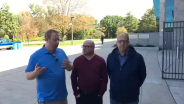 Chris Solari, Shawn Windsor and Lansing State Journal columnist Graham Couch talk MSU-Michigan after Mark Dantonio and Spartan players' press conference.