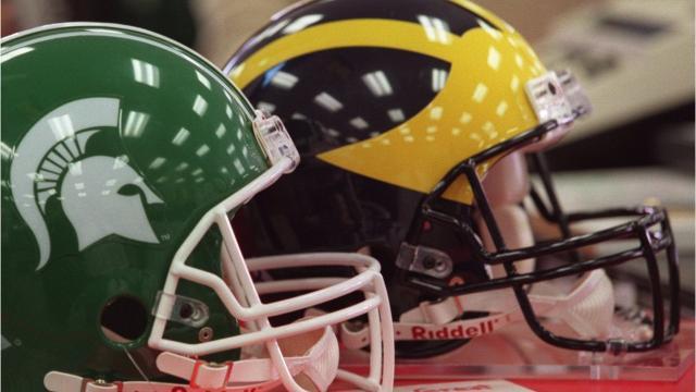 A quick look at the Michigan vs. Michigan State football rivalry. Produced by Brian Manzullo, DFP.
