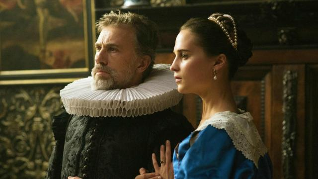 """Set in 17th century Amsterdam, """"Tulip Fever"""" follows a married woman (Alicia Vikander) who begins an affair with an artist (Dane DeHaan) hired to paint her portrait"""