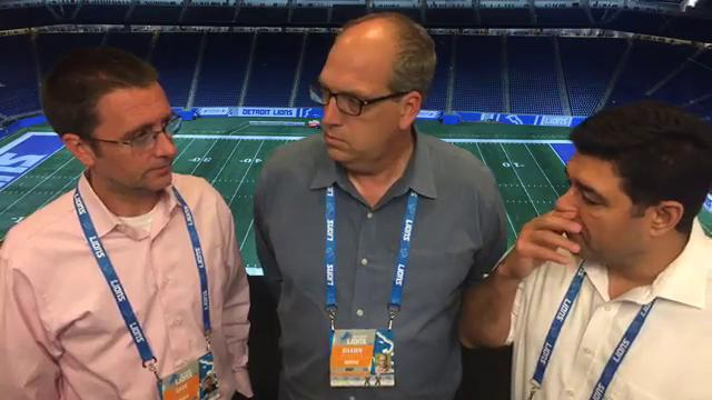 Free Press sports writers Dave Birkett, Carlos Monarrez and Shawn Windsor examine the Lions' 27-24 loss to the Panthers on Sunday, Oct. 8, 2017, at Ford Field.