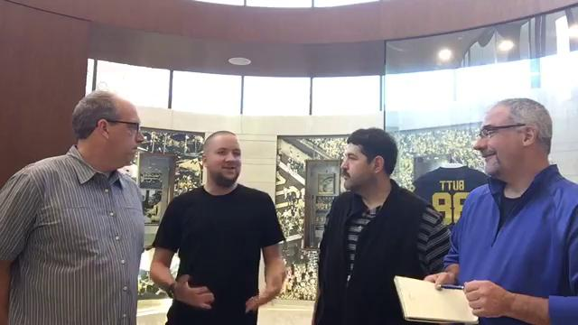 Free Press writers Nick Baumgardner, Shawn Windsor, George Sipple and Jeff Seidel discuss Michigan football the Monday after the loss vs. Michigan State on Oct. 9, 2017.