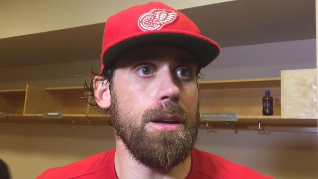 Red Wings discuss loss in Dallas