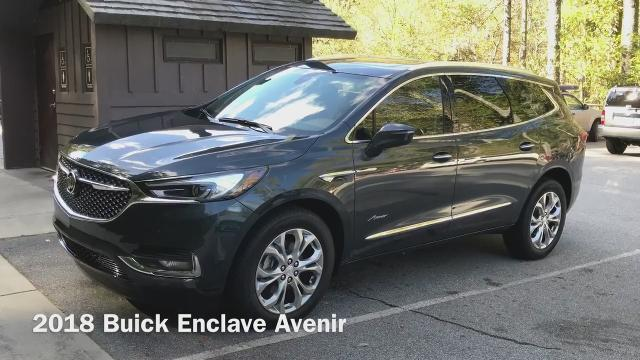 Free Press auto critic Mark Phelan gives us his first impressions of the 2018 Buick Enclave Avenir.