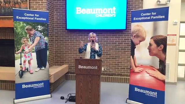 The Exceptional Families Autism Center celebrates its opening in Dearborn on Wednesday, Oct. 11, 2017.