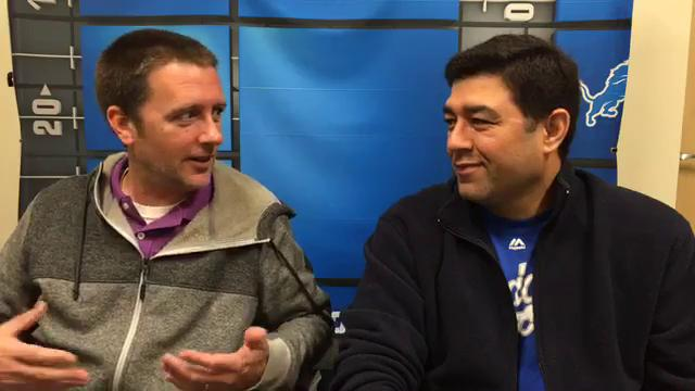 Free Press sports writers Dave Birkett and Carlos Monarrez make their picks for Sunday's Lions-Saints game. Recorded Friday, Oct. 13, 2017.