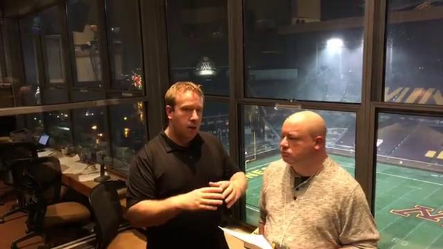 Free Press sports writer Chris Solari and Lansing State Journal columnist Graham Couch share their thoughts after the Spartans' 30-27 win over Minnesota on Saturday, Oct. 14, 2017, in Minneapolis.
