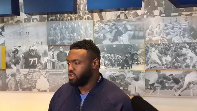 U-M's Mo Hurst excited to face Saquon Barkley, Penn State