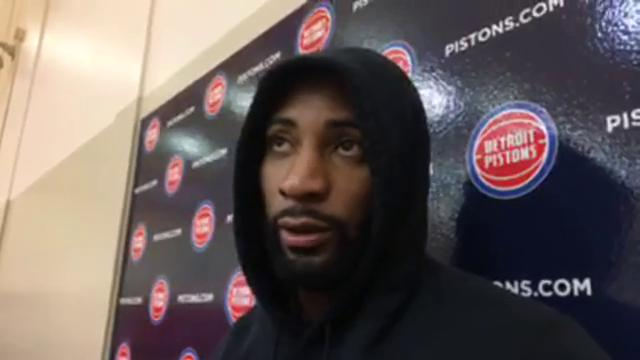 Pistons center Andre Drummond shares his thoughts on how the preseason went on Monday, Oct. 16, 2017, in Auburn Hills. Video by Vince Ellis/DFP