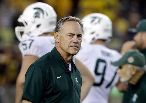 Michigan State preparing for Indiana on homecoming