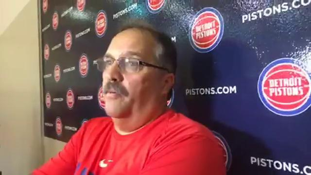 Pistons' Stan Van Gundy previews first LCA game