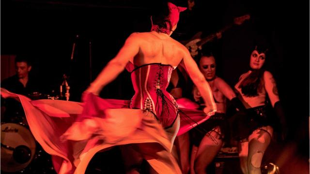 """Theatre Bizarre, the carnivalesque celebration at Detroit's Masonic Temple, is hailed by many as the """"greatest masquerade on earth."""""""