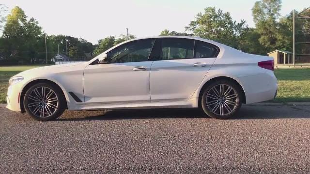 2017 BMW 540i xDrive video review
