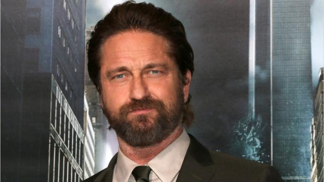 "Gerard Butler was busy promoting his new movie ""Geostorm,"" just days after cheating death.