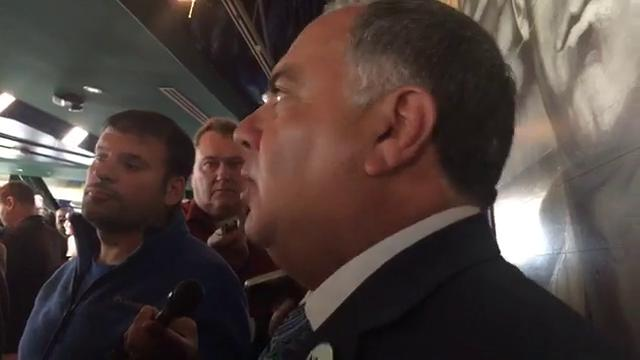 Detroit Tigers GM Al Avila speaks with the media on a variety of topics after Ron Gardenhire is introduced as manager at Comerica Park on Friday, Oct. 20, 2017.