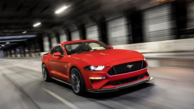 Ford engineers worked evenings and weekend to create Performance Pack 2, which includes very aggressive tires, a MagneRide adaptive suspension, and aerodynamic improvements. It will be available next spring on Mustang GTs for $6,500.
