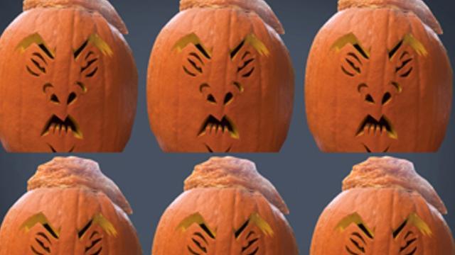 Carve a Halloween Trumpkin