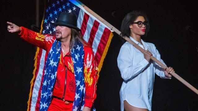 Kid Rock ends rumors of running for U.S. Senate