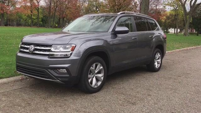 The 2018 VW Atlas is a family SUV that's targeting buyers considering the competing models from GM, Ford, Honda or Toyota.