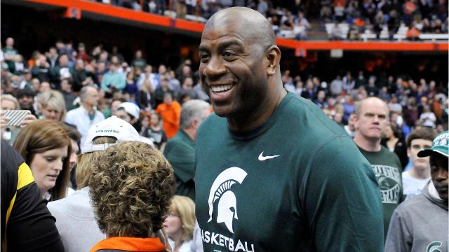 Remembering Magic Johnson's career in college and the pros. Video by Ryan Ford/DFP