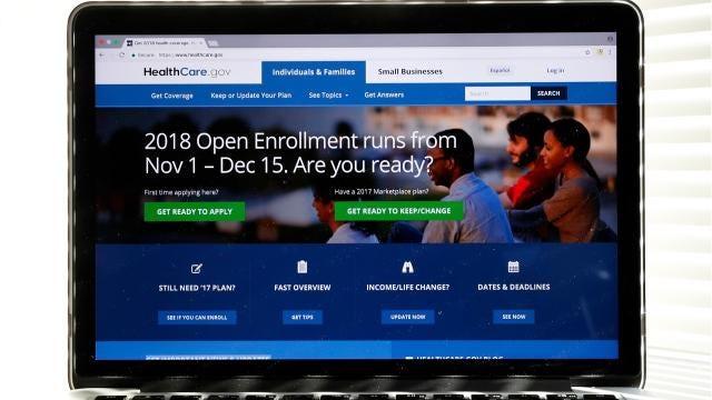 Obamacare open enrollment starts Nov. 1