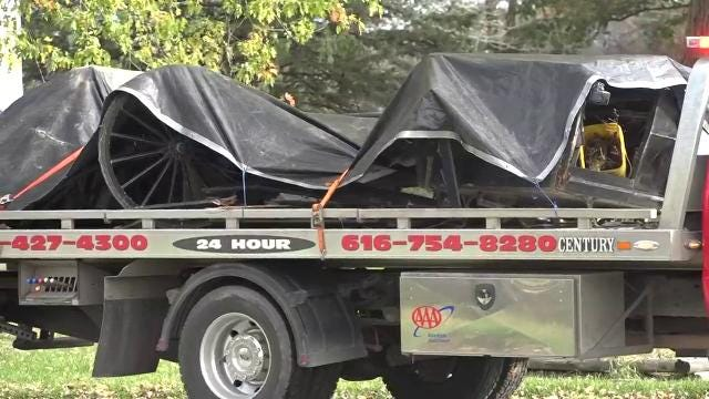 On Sunday morning around 8:34 a.m, a truck and buggy crashed in Evergreen Township, killing three and injuring six -- all of whom are from Sheridan.