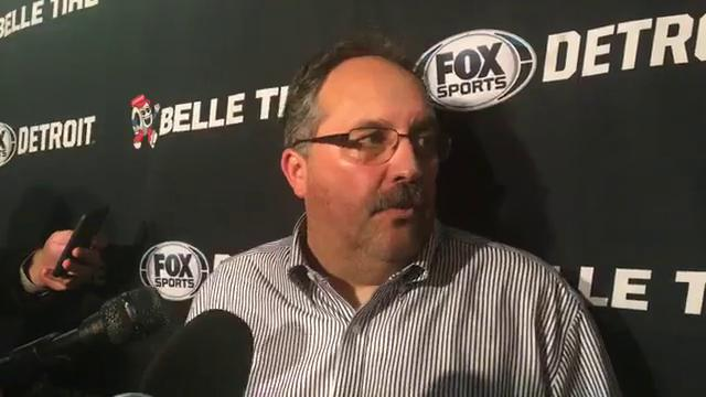 Pistons coach Stan Van Gundy fields questions from the media after the 113-93 loss to the Lakers on Tuesday, Oct. 31, 2017, in Los Angeles. Video by Vince Ellis/DFP