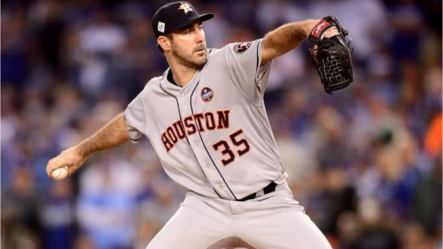 Congratulations on winning the World Series, Justin Verlander! Video by Ryan Ford/DFP