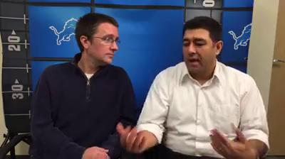 Dave Birkett and Carlos Monarrez preview the Lions-Packers game.
