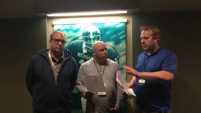 Chris Solari, Shawn Windsor and Lansing State Journal sports columnist Graham Couch -- STILL at Spartan Stadium -- recap MSU's 27-24 upset of No. 7 Penn State.