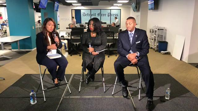 Detroit City Council debate with District 6 candidates Raquel Castaneda-Lopez and Tyrone Carter answer our questions on Friday, Oct. 20, 2017.