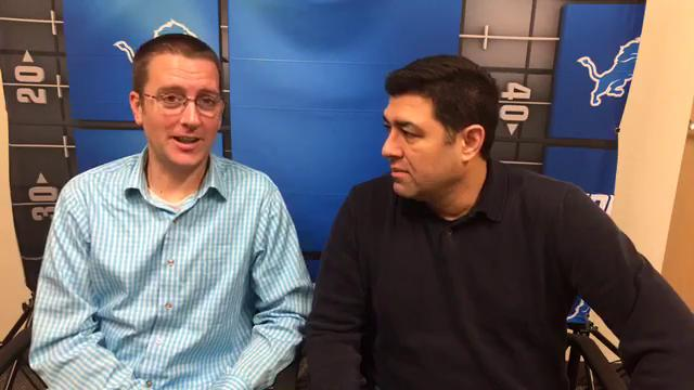 Free Press sports writers Dave Birkett and Carlos Monarrez predict the Lions-Browns game on Nov. 9, 2017.