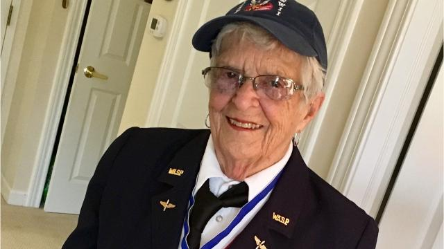 Jane Baessler Doyle was among the first American women to fly military planes when she became a member of the Women Airforce Service Pilots in 1943. She flew to help the war effort, freeing men to fly in combat during World War II.