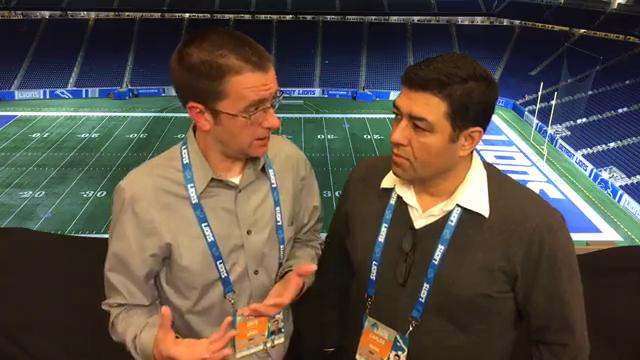 Free Press sports writers Dave Birkett and Carlos Monarrez break down the Lions' 38-24 win over the Browns on Sunday, Nov. 12, 2017, at Ford Field.
