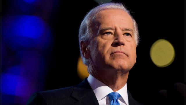 On Monday, Joe Biden left the door open to a presidential run to challenge President Donald Trump in the 2020 election.