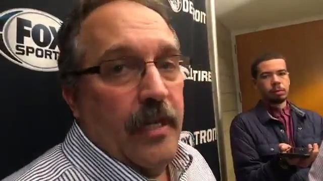Detroit Pistons coach Stan Van Gundy talks about his team's loss in Milwaukee on first game of road trip.