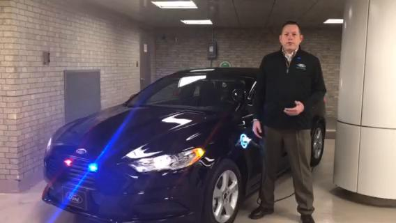 Ford's first plug-in hybrid cop car hits the market.