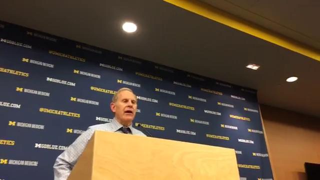 Michigan coach John Beilein was pleased with his team's defense, but not the offense after a 61-47 win over Southern Mississippi on Thursday, Nov. 16, 2017 at Crisler Center.