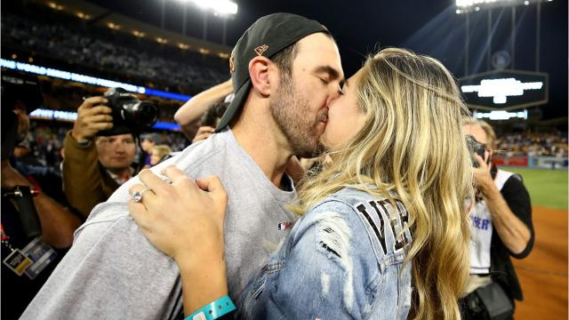 """First a World Series win, now a beautiful Tuscan wedding. Newly married couple Kate Upton and Justin Verlander have a lot to celebrate. Us Weekly reports that they both shared their happiness about their weekend nuptials on social media on Monday. 25- year-old swimsuit model, Kate wrote on Instagram, """"I feel so lucky that I got to marry my best friend!! Justin, a 34 -year-old Houston Astros pitcher added, """"Happy wife happy life!"""" What an amazing beginning to our journey together!"""" According to Us Weekly the newlyweds said their """"I do's"""" on Saturday, November 4, in Tuscany, Italy, on a luxe resort overlooking a valley."""