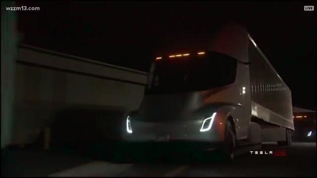 Meijer to invest in Tesla electronic trucks