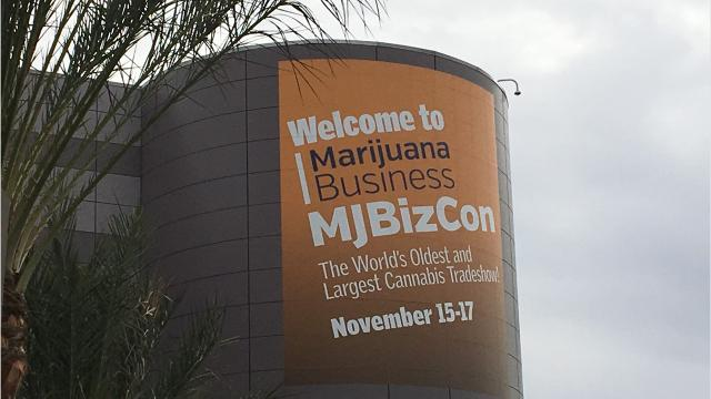 More than 18,000 people and 678 vendors gathered in Las Vegas for the MJBizCon, a conference all about the cannabis industry.