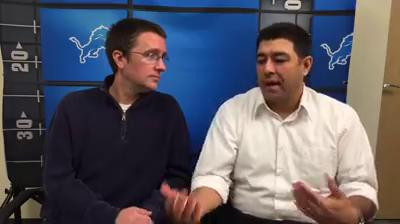 Dave Birkett and Carlos Monarrez break down Jim Caldwell's Monday news conference and prep for Thanksgiving.