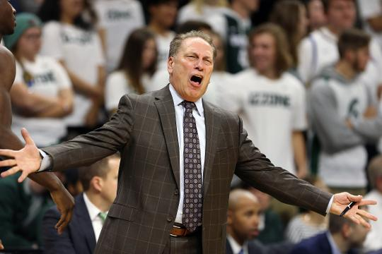 Michigan State coach Tom Izzo says he won't know star Miles Bridges' status for another day or two before the PK80 tournament. Video by Chris Solari/DFP