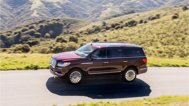 First Drive 2018 Lincoln Navigator Black Label Details Exude Luxury