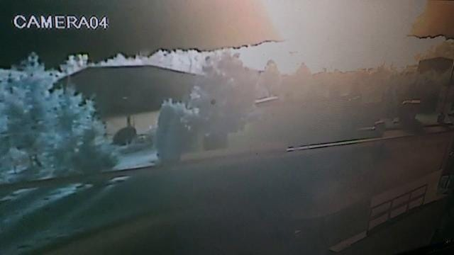 Watch: Surveillance camera captures gas line explosion in Orion Twp.